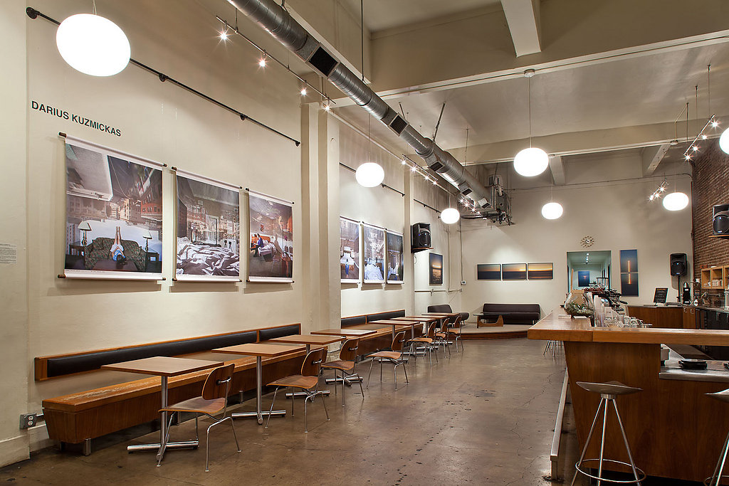 Installation at Stumptown Coffee Roasters